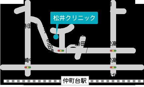 住所 224-0034横浜市都筑区勝田町324-3  (拡大図はこちら)