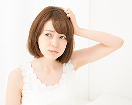 びまん性脱毛症とは